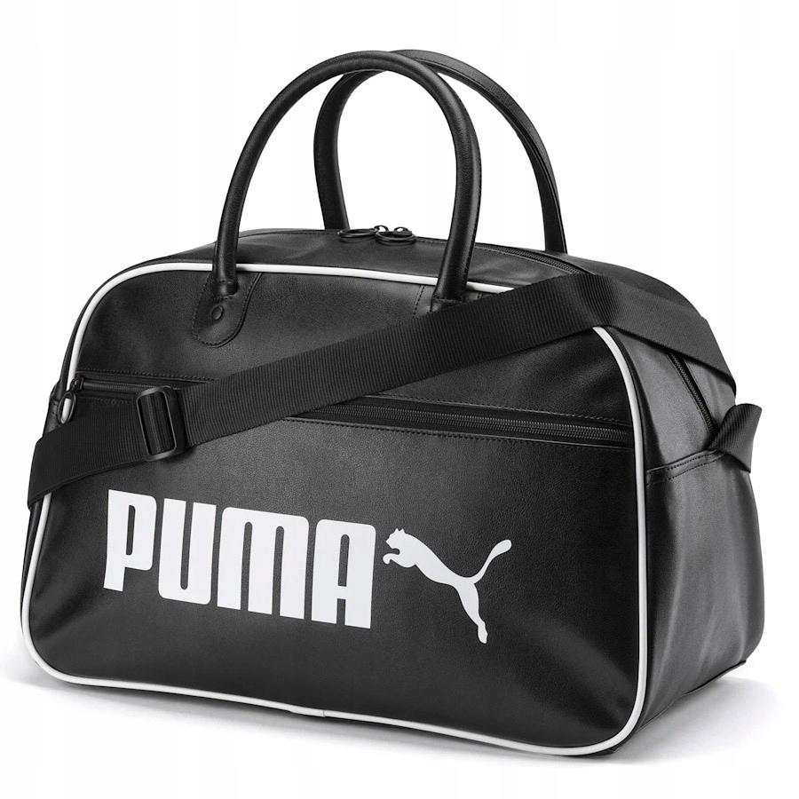 Torba Puma Campus Grip Bag Retro 076695 01 czarny