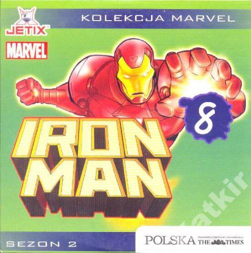 Iron Man. Sezon 2 płyta 8. VCD.