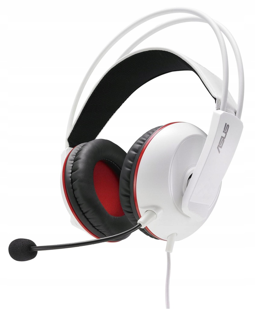 Słuchawki Asus Cerberus Arctic białe 60mm