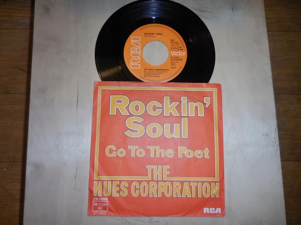 THE HUES CORPORATION 'Rockin' soul'