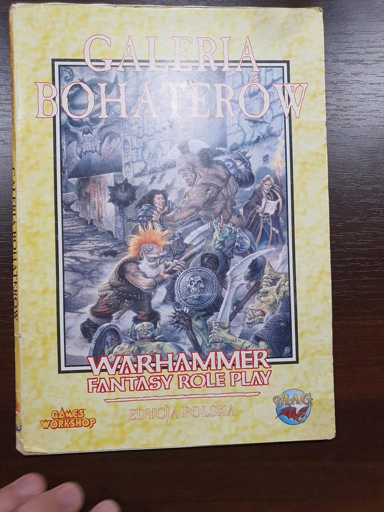 GALERIA BOHATERÓW - Warhammer RPG - 1 edycja PL