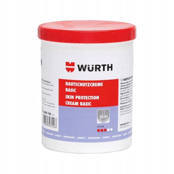 Würth Krem ochronny do skóry Basic 1000 ml