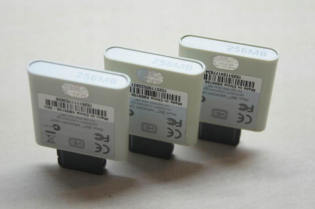oryginalna karta pamięci 256 mb do XBOX 360 !