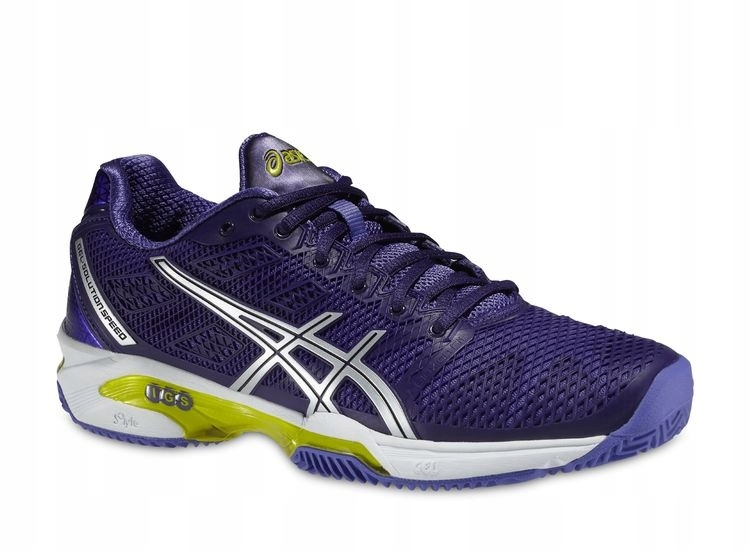 BUTY ASICS GEL SOLUTION SPEED 2 CLAY PURP 37,5