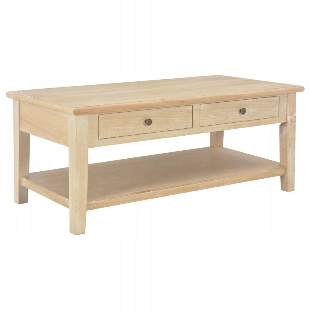 VidaXL Stolik kawowy, 100 x 50 x 40 cm, drewniany