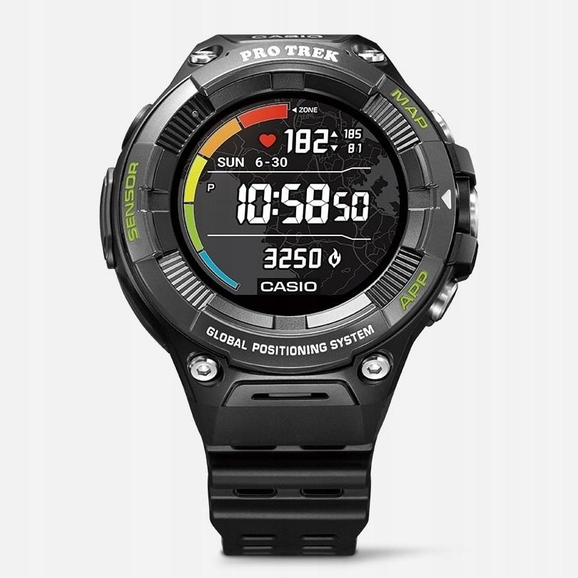 Zegarek Casio Pro Trek Smart WSD F21HR BK