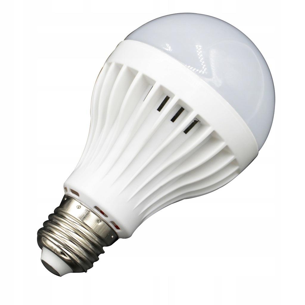 Żarówka LED E27 AC 220V 9W IR na podczerwień (czys