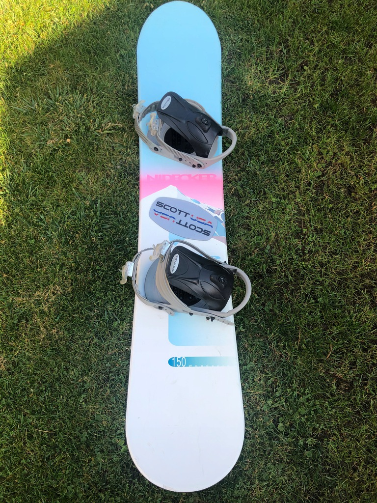 Deska Snowboardowa Scott USA Nidecker 150