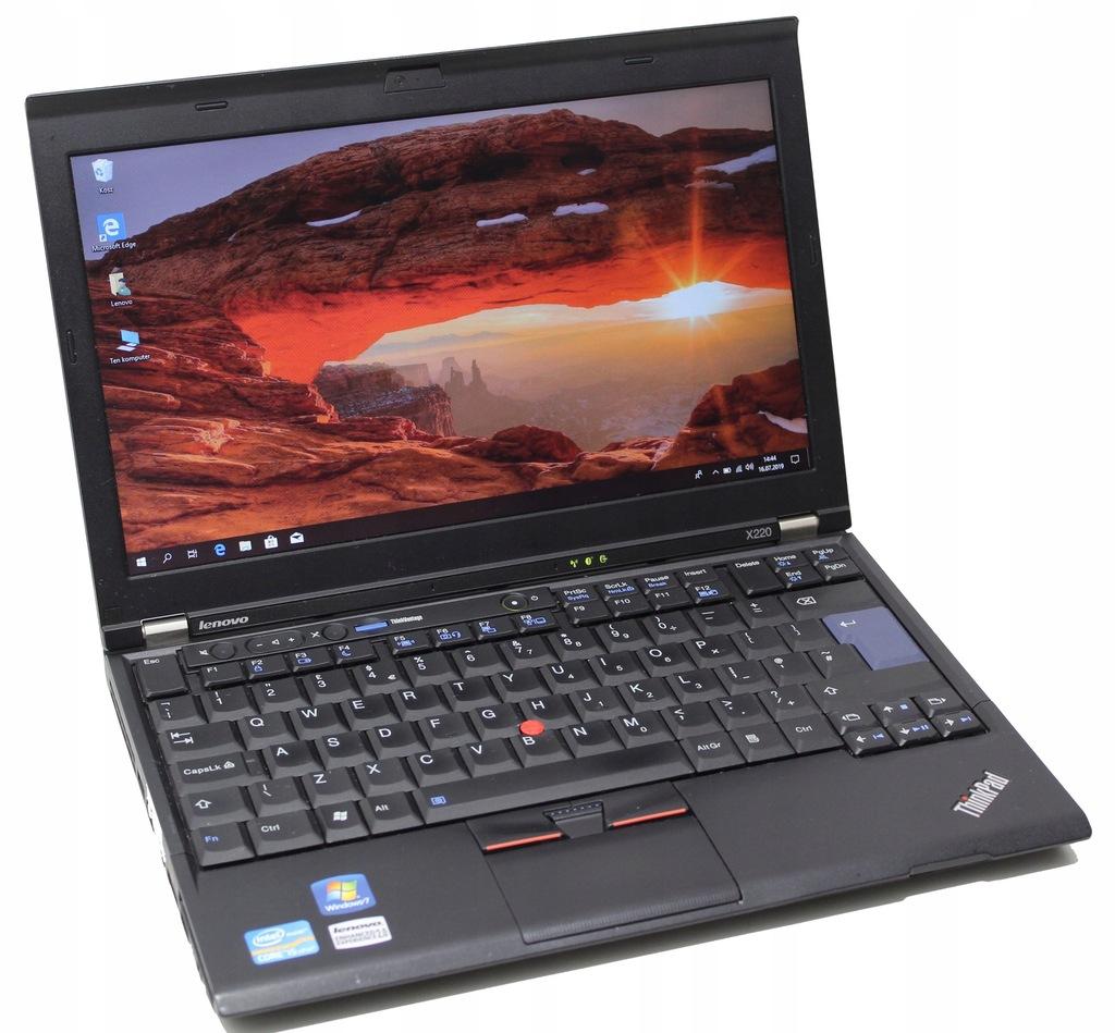 Laptop Lenovo Thinkpad X220 I5 2520 8gb 250gb W10 8322084884 Oficjalne Archiwum Allegro