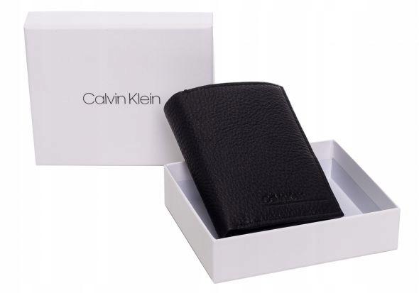 CALVIN KLEIN PORTFEL MĘSKI CK BLACK K50K505655 BAX