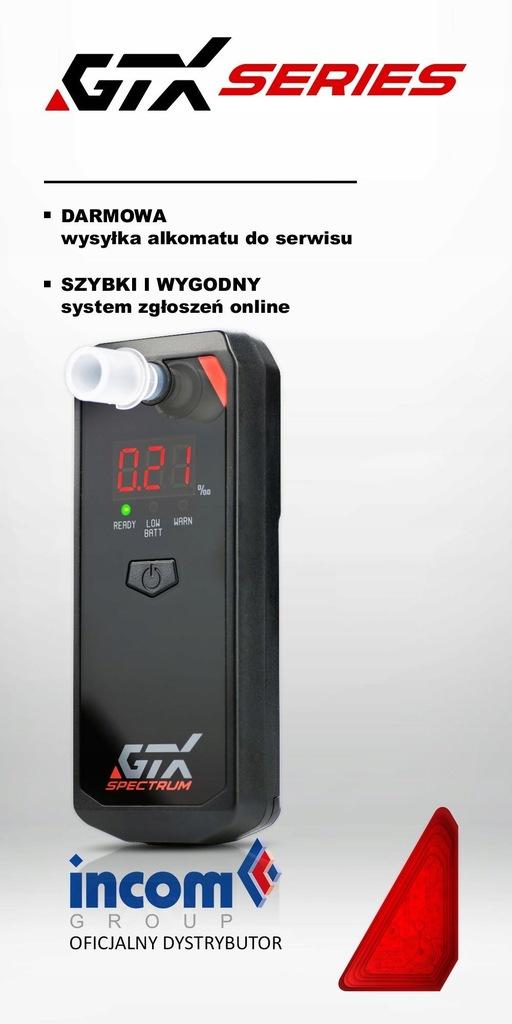 Alkomat elektrochemiczny GTX Spectrum