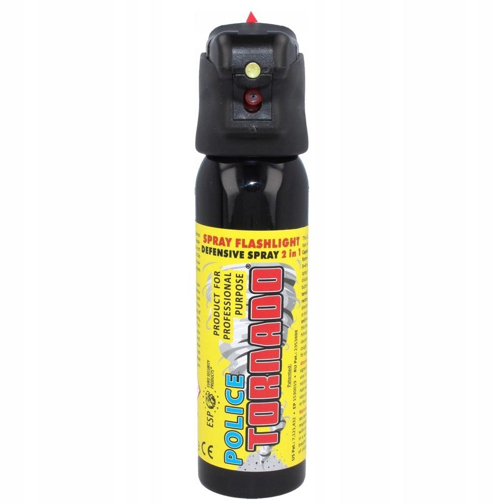 Gaz pieprzowy ESP Tornado LED 100ml SFL-01-100