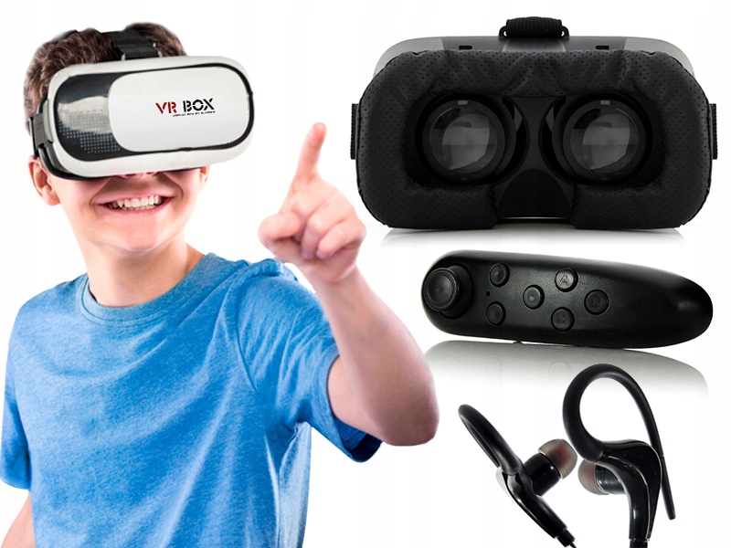 Gogle VR okularki okulus do smartfona telefonu