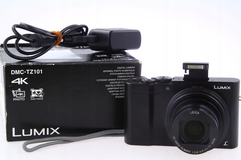 Panasonic Lumix DMC-TZ101 10x Leica Zoom, TZ100 4K