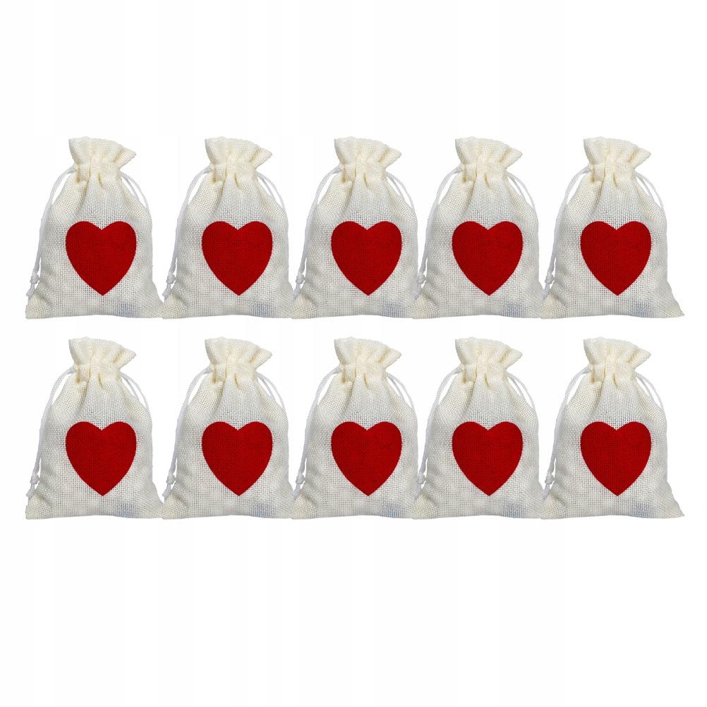 10 sztuk woreczki na wesele festiwalowe na cukierk