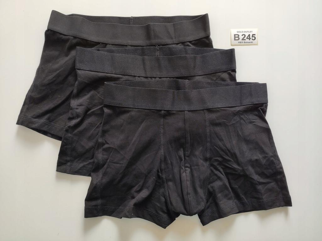 BOKSERKI majtki H&M 36 S 3-pak B245