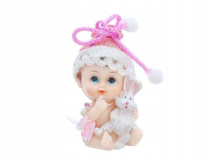 Figurka Dziewczynka z króliczkiem, 6cm