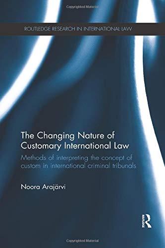 Noora Arajrvi - The Changing Nature of Customary I