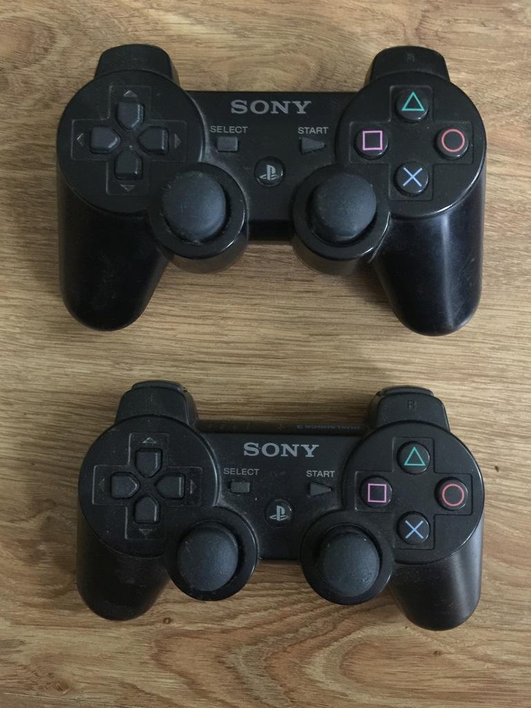 DWA KONTROLERY SONY DUALSHOCK 3 PS3 BEZPRZEWODOWE
