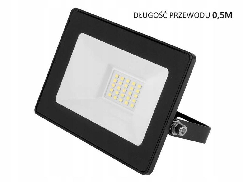 Naświetlacz halogen lampa LED 20W 1480lm IP65