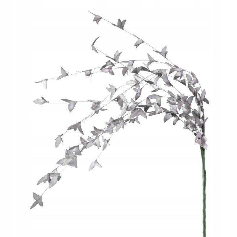 Kwiat dekoracyjny FLORE srebrna 100X15/x6sz