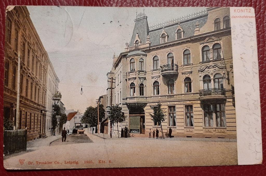 Pocztówka Konitz - Chojnice około 1905 r