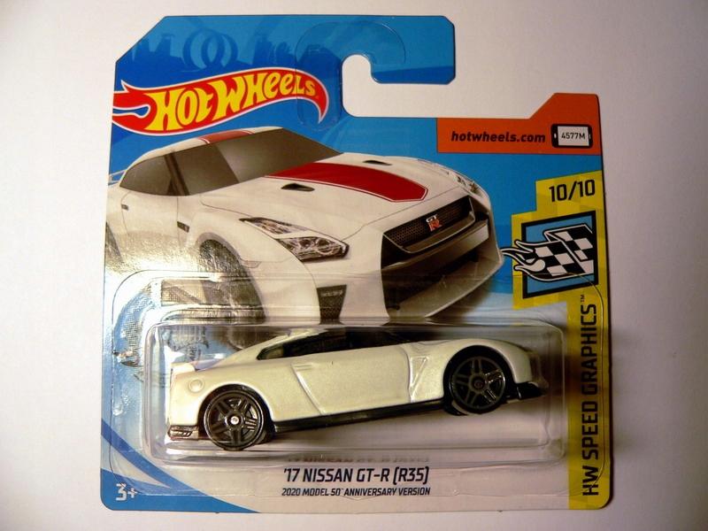 Hot Wheels '17 Nissan GT-R [R35] - Nowy !!