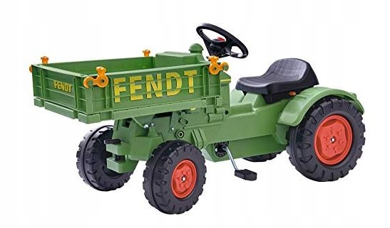 Traktor na pedały Big Fendt Geratetager 449 na 199