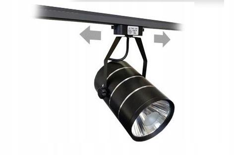 Reflektor szynowy lampa sklepowa LED 30W czarny o