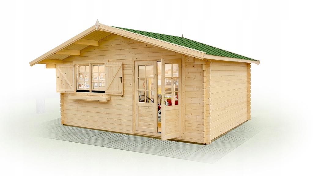Domowe biuro 4.5x4 home office do ogrodu szybko