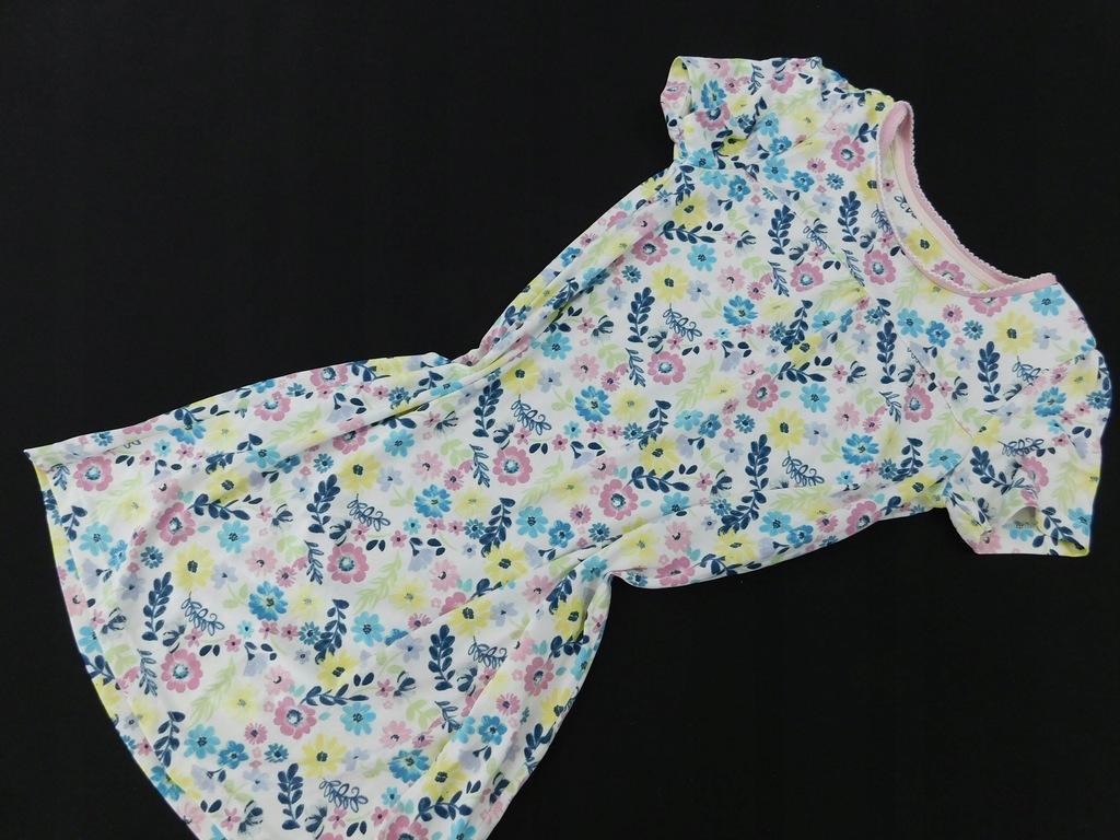 2207ma48 TU sukienka DZIECIĘCA kolorowa_128/134