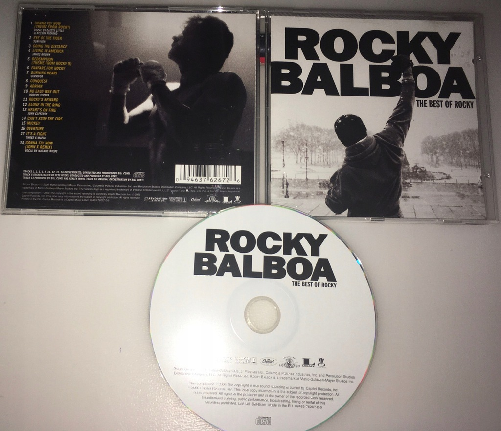 ROCKY BALBOA - THE BEST OF ROCKY (SOUNDTRACK)