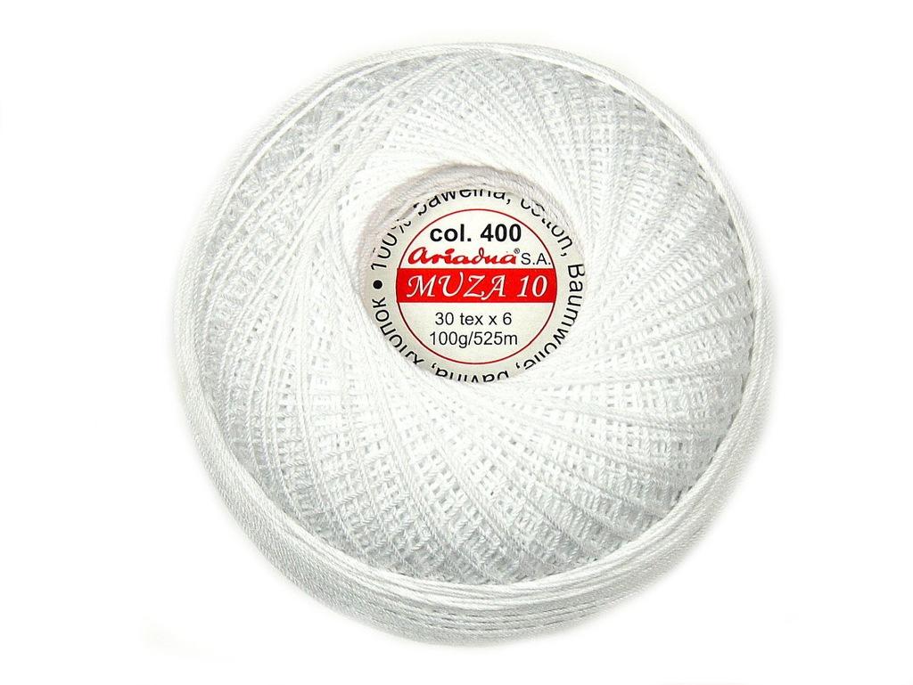 KORDONEK MUZA 10-30/6- 525m - biały 40 0- ARIADNA