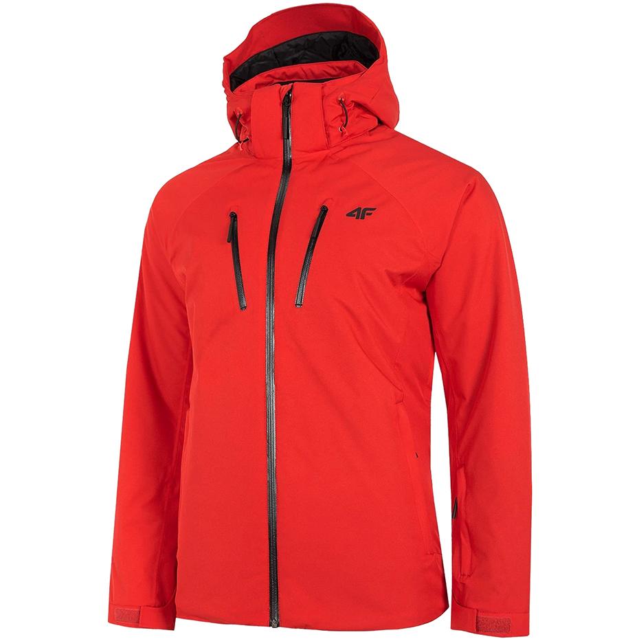 Kurtka narciarska męska 4F czerwona H4Z20 KUMN005