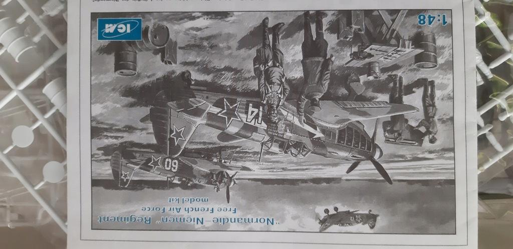 Normandie Niemen 3x Jak 1/48