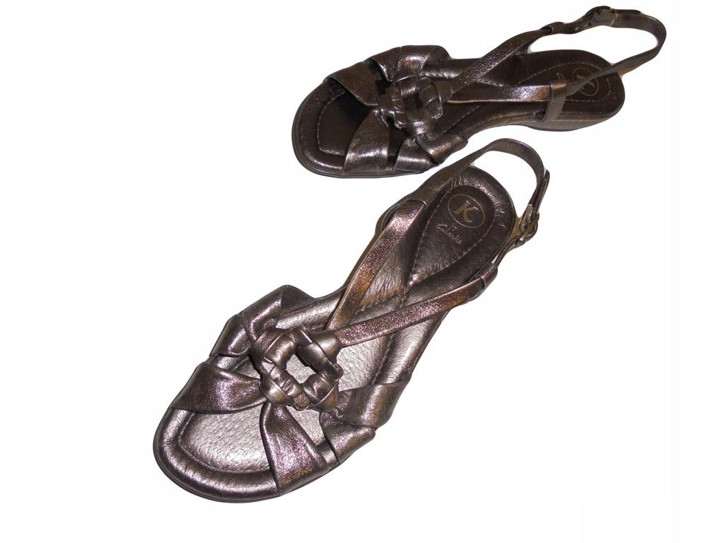 Skórzane sandały firmy Clarks. NOWE! Rozmiar 39.