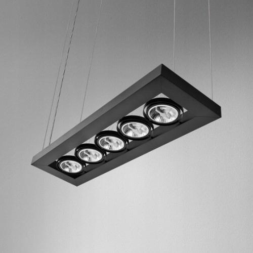 Lampa AQForm CADVA czarna 53215-0000-T8-PH-02