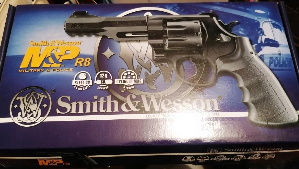 Wiatrówka Rewolwer Smith&Wesson M&P R8