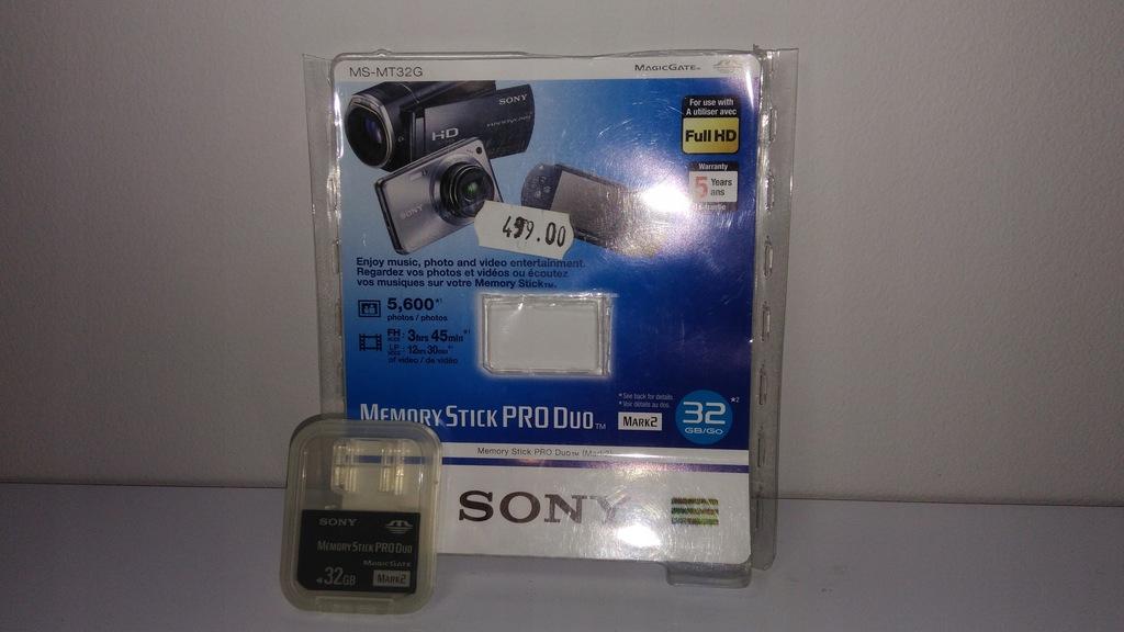 Karta Sony Memory Stick Pro Duo 32GB