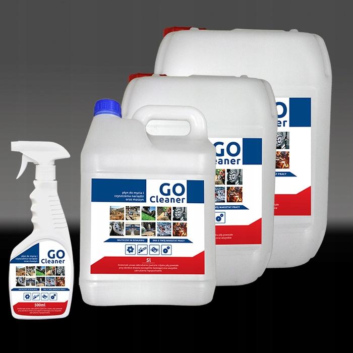 Płyn do mycia narzędzi i maszyn Go Cleaner 500ml