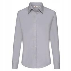 DAMSKA koszula OXFORD LONG FRUIT szary XS