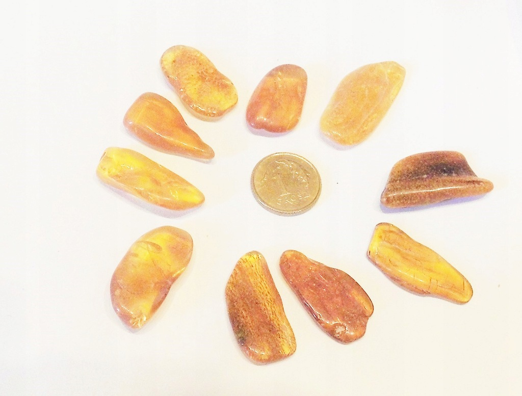 BURSZTYN - bryłki wypolerowane 7,0 g (14)