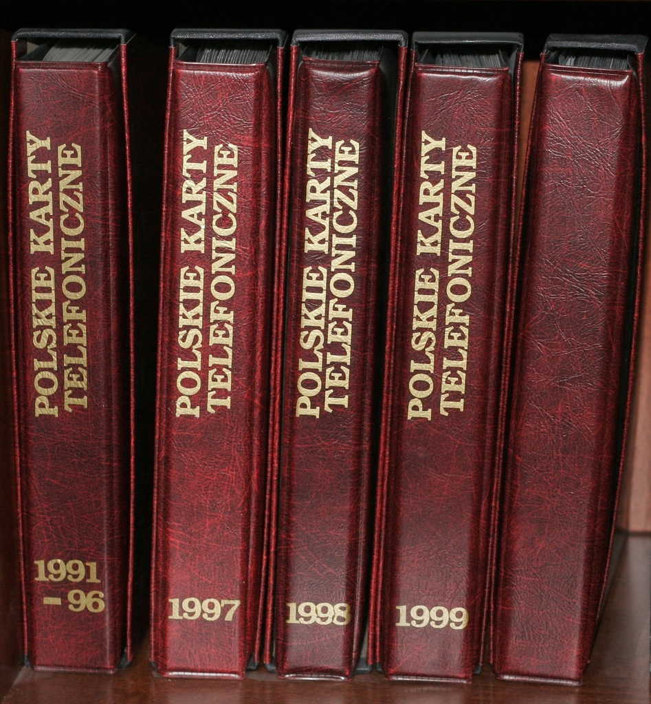 Kolekcja polskich kart telefonicznych 1990-2000 r.