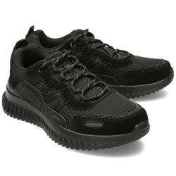 Skechers Czarne Sneakersy Męskie R.40