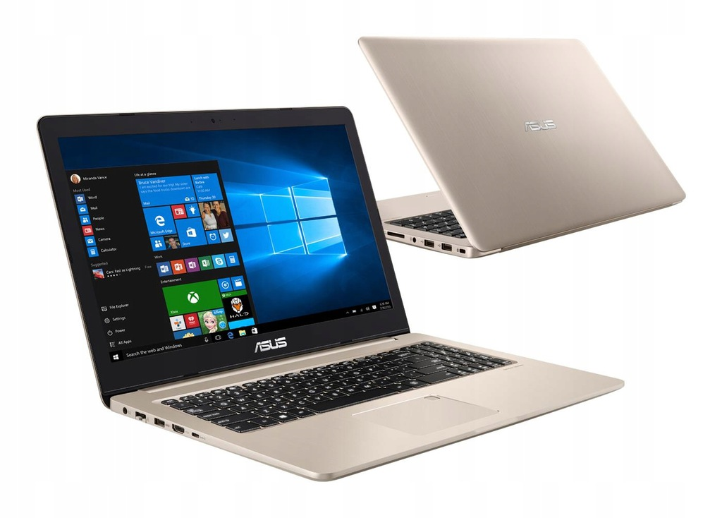 ASUS Vivobook Pro N580GD i7 8GB 256SSD 1050 Win10