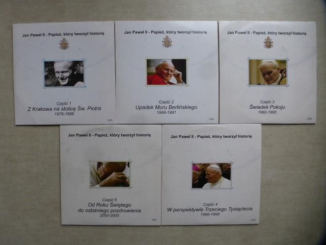 Jan Paweł II - Papież który tworzył historię 5xcd