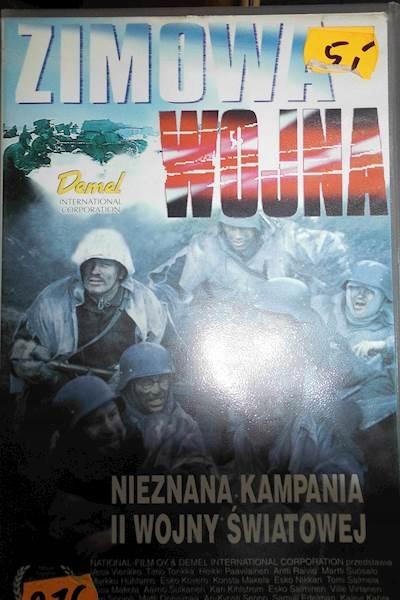Zimowa wojna - VHS kaseta video