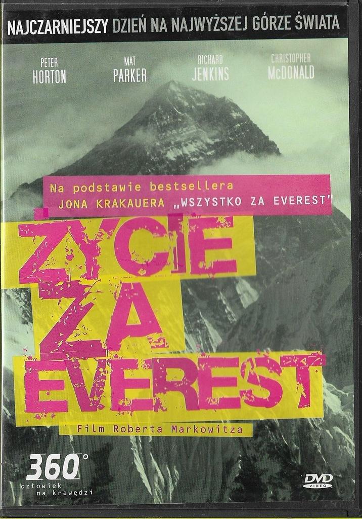 Życie za Everest DVD UNIKAT