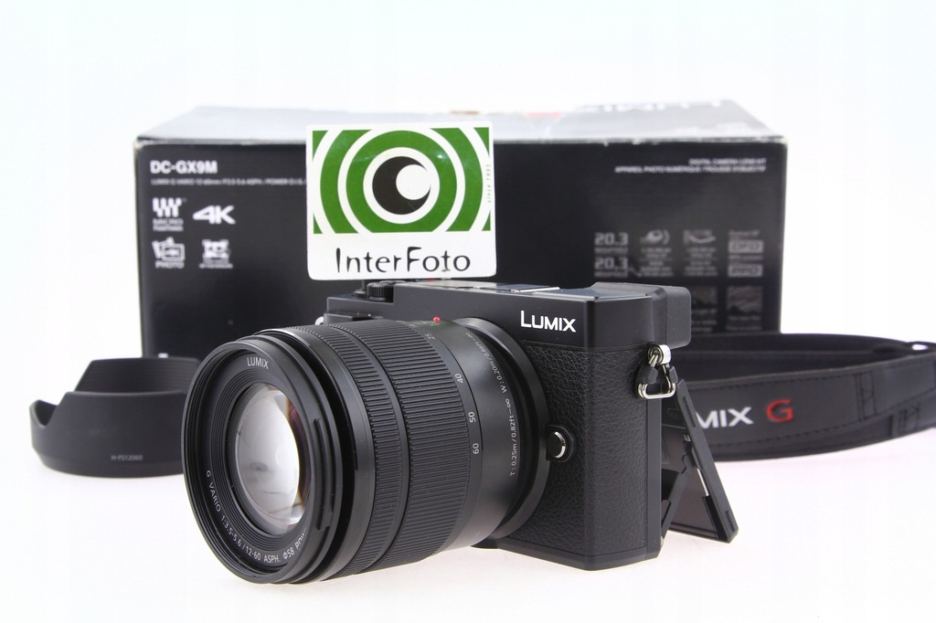 Panasonic Lumix DMC-GX9M + 12-60mm OIS G InterFoto