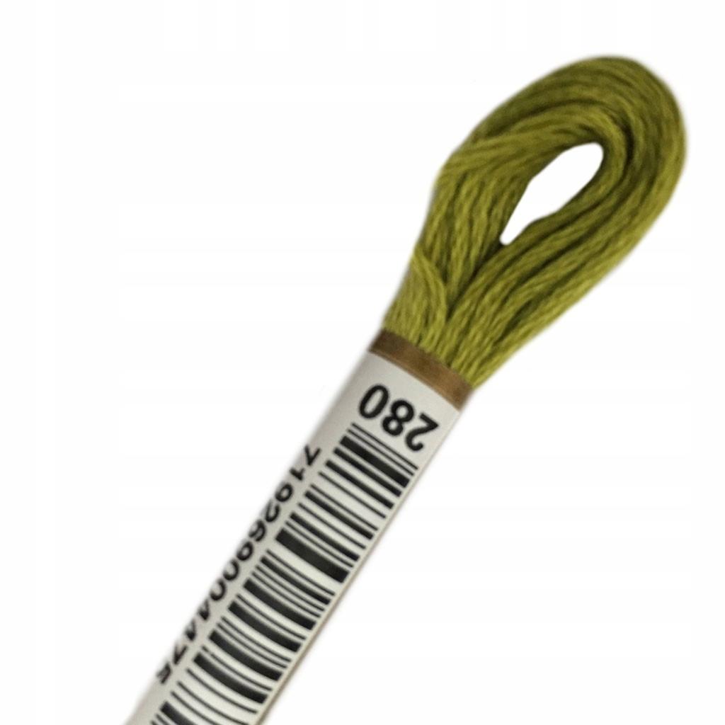 MULINA ANCHOR COATS stranded cotton nr koloru 0280
